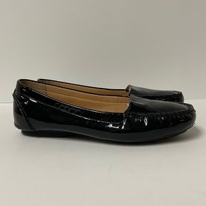 Me Too Piper Black Patent Leather Loafers 8.5M
